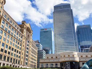 One Canada Square was the UK's tallest building when it was built in 1990