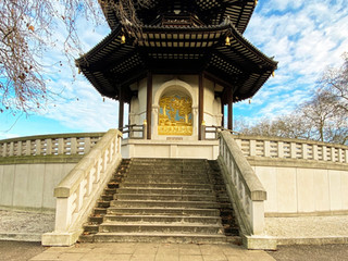 The Peace Pagoda in Battersea Park