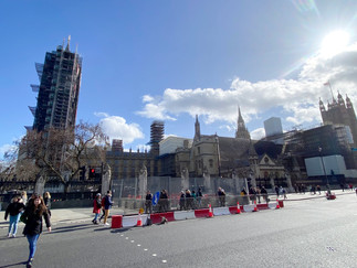 Big Ben & the Elizabeth Tower as they've been for the last 3 years for renovations