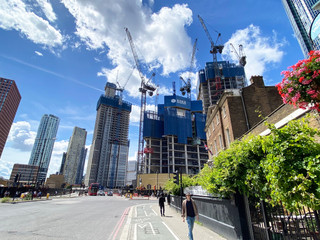 Tower blocks galore at Vauxhall