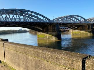 Barnes Rail and Foot Bridge