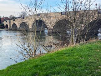 Chertsey Bridge - Grade II listed