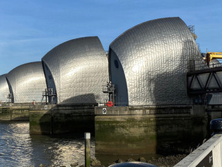 The Thames Barrier opened in 1984