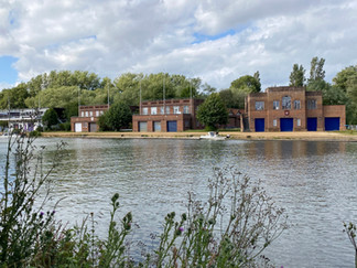 The first of numerous Oxford colleges' boathouses