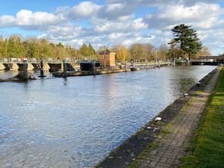 Belle Weir Lock & Weir