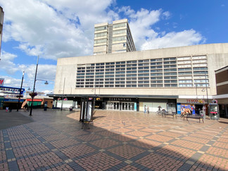 The concrete jungle that is Swindon centre