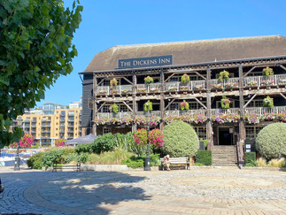 The Dickens Inn at St Katharine Docks. Originally an 18th century warehouse