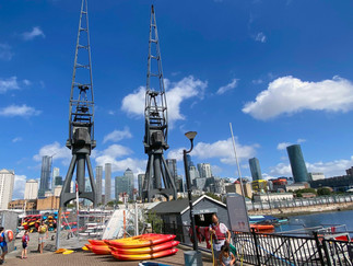 The Docklands Sailing and Watersports Centre was established in 1989 in the former dock