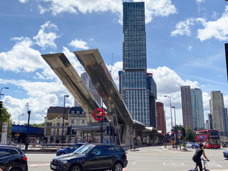 Vauxhall Cross and its striking bus station