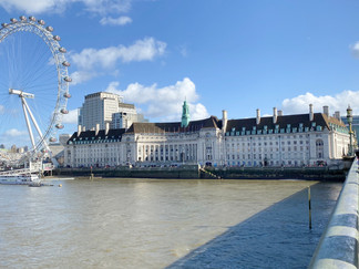The London Eye & County Hall from Westminster Bridge