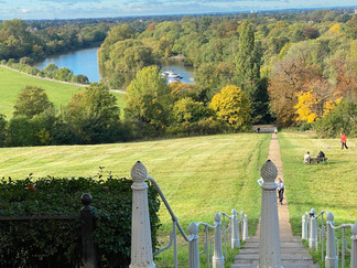 The iconic view from Richmond Hill