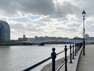 Wandsworth Bridge - definitely not a looker!
