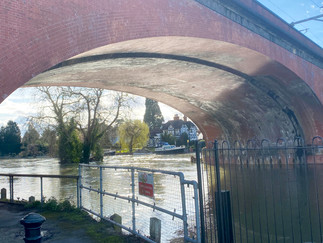 The arches of the bridge are the widdest and flattest of any brick built bridge