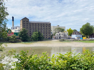 The former Mortlake Brewery. Now destined to become apartments