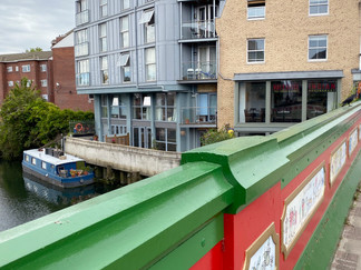 Crossing the Brent/Grand Union Canal