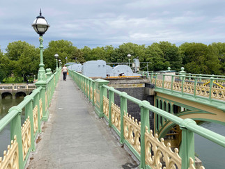Very ornate footbridge