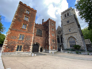 Lambeth Palace. The official London residence of the Archbishop of Canterbury