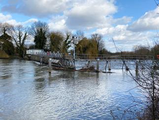 Old Windsor Lock Weir
