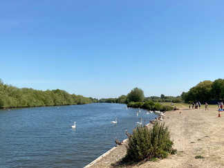 Entering Thames Valley Park