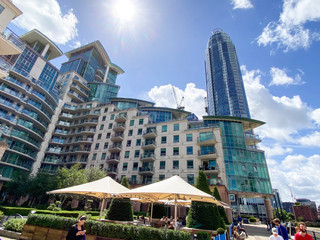 The Tower was the tallest residential building in the UK when completed in 2013 - but now only a poor seventh!