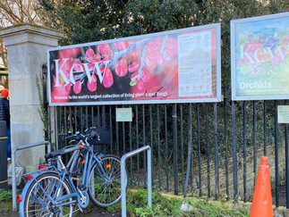 Entrance to Kew Gardens