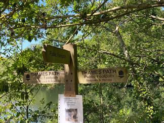 Walk back to Tilehurst starts here