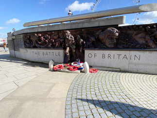 Battle of Britain Monument on the Embankment