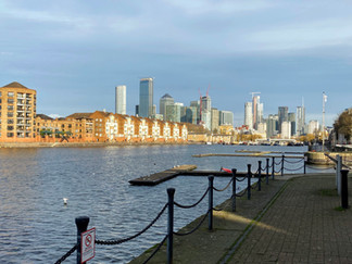 Greenland Dock - one of the Surrey Docks that wasn't filled in after years of disuse