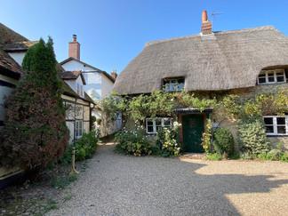 Quaint cottages in Dorchester