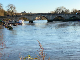 Richmond Bridge. Unbelievably this was built in 1777