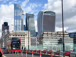 London Bridge looking back towards the City