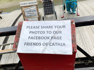 Friends of Cathja is a charity helping people suffering from enduring mental health problems