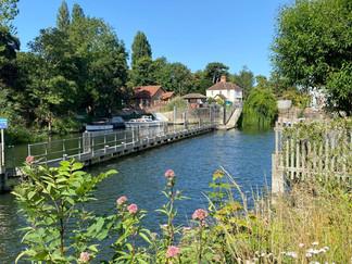 Approaching Marlow Lock