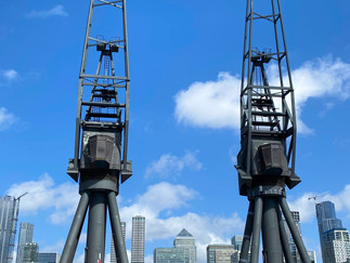 Great that the old cranes were retained