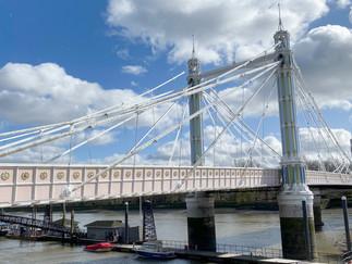 Albert Bridge - one of the most attractive bridges