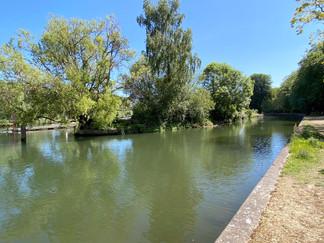 Approaching Caversham Lock