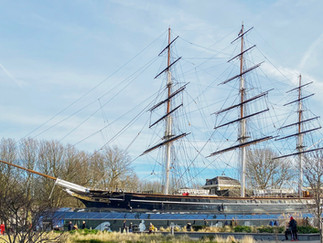 The Cutty Sark - the world's only surviving tea clipper built in 1869