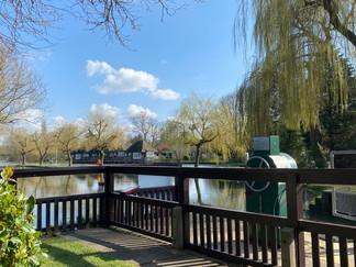Shipley Lock - lovely place for a break