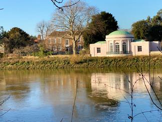 Syon Park Boathouse - Grade I listed