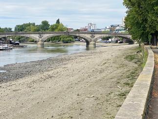 Approaching Kew Bridge