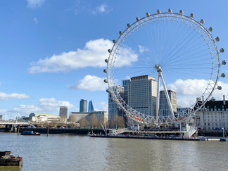 More people visit the London Eye each year than the Taj Mahal and the Pyramids of Giza