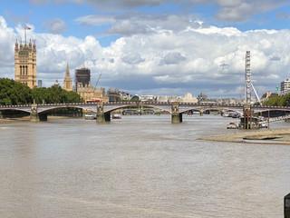 Looking back towards Lambeth Bridge