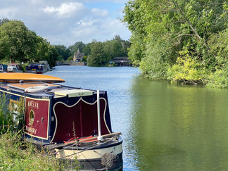 Iffley Lock coming into view