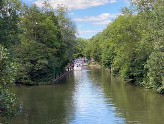 Hurley Lock ahead