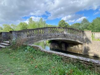 The stone bridge at Iffley Lock