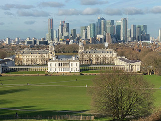 View from the path up to the Observatory. The 2012 Olympics equestrian events were held at this beautiful location