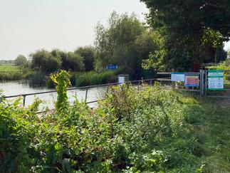Approaching Grafton Lock