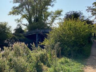 Ignore this footbridge that leads to Sutton Courtenay