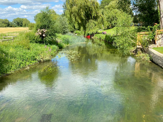 The mighty Thames at Castle Eaton