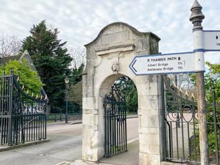 Entrance to Battersea Park